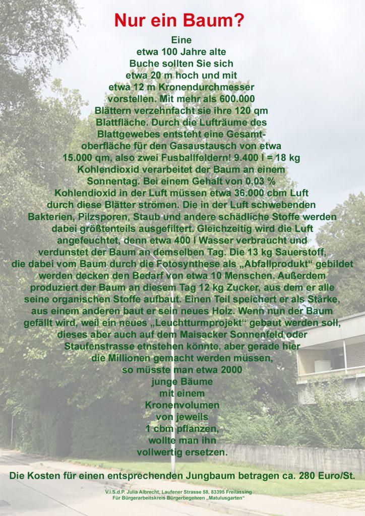"""""""Leuchtturmprojekt"""" gegen die Natur?"""