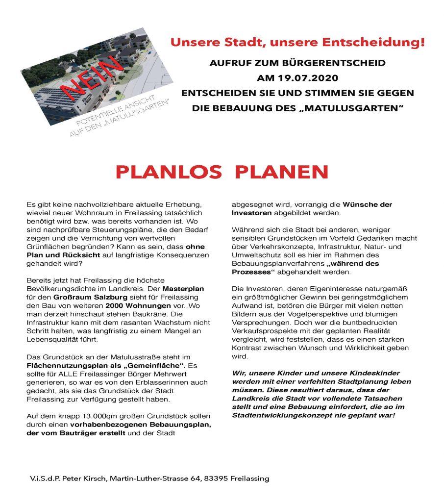 Planlos Planen 01